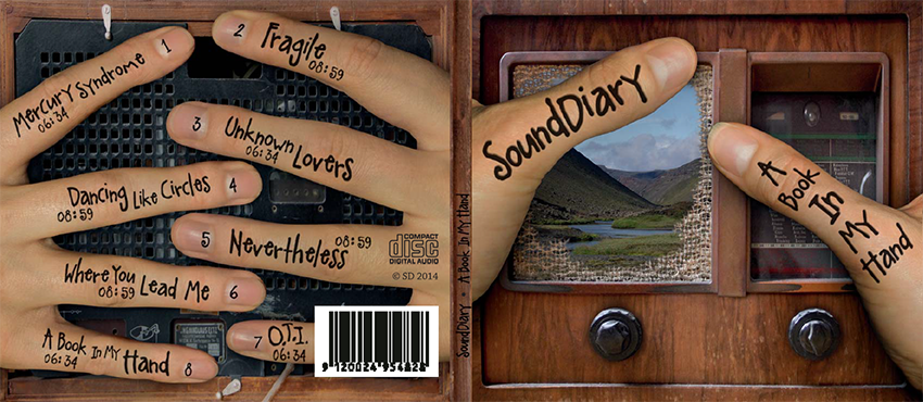 SoundDiary - CDcase Cover